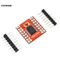 Dual DC Stepper Motor Drive Controller Board Module TB6612FNG Replace L298N For Arduino