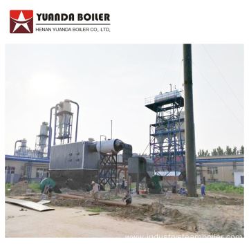 Industrial Biomass Wood Thermal Oil Boiler Heating System
