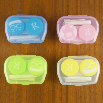 Portable Travel Glasses Contact Lenses Box Contact Lens Case For Eyes Care Kit Holder Container Gift 6.5 X 4 X2cm