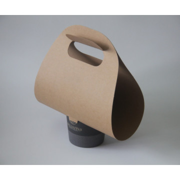 Disposable coffee cup carriers