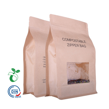 China suppliers reusable food grade kraft paper food bags