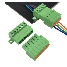 screwless terminal block connector male and female