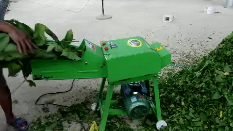 Farm Equipment Hay Chopper Small Hay Cutter