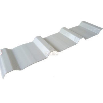 Plastic High Strength Pc Corrugated Roofing Sheet