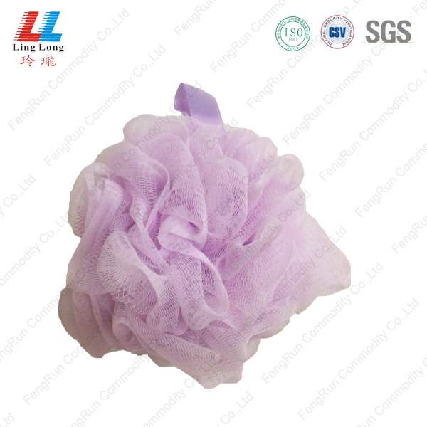 comfortable helpful body pouf shower bath sponge