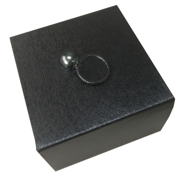 Elegant Wedding Romantic Ring Paper Box