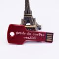 Metal Pen Drive Key USB Flash Drive 2.0 4GB 8GB 32GB 16GB Storage Device 128MB Memory Stick Engrave Gifts(over 10pcs Logo Free)