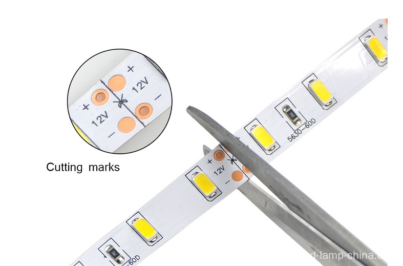 90 leds/meter Highbightness 5630 led strip
