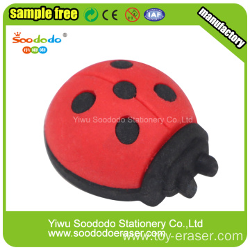 TPR Animals Beetles Shaped Eraser For Kids