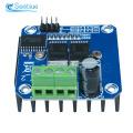 Double BTS7960 B BTS7960B 43A H-Bridge high power Motor Driver Module Board For Arduino MCU Smart Car Robot Current Diagnostic