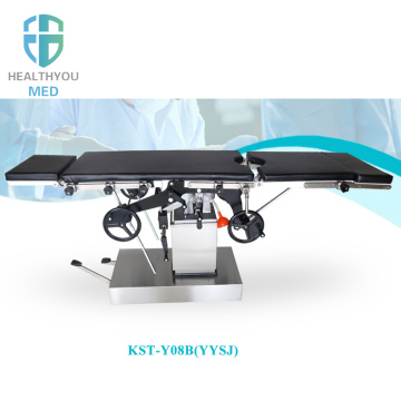 Gynecology manual operation table mobile operation table