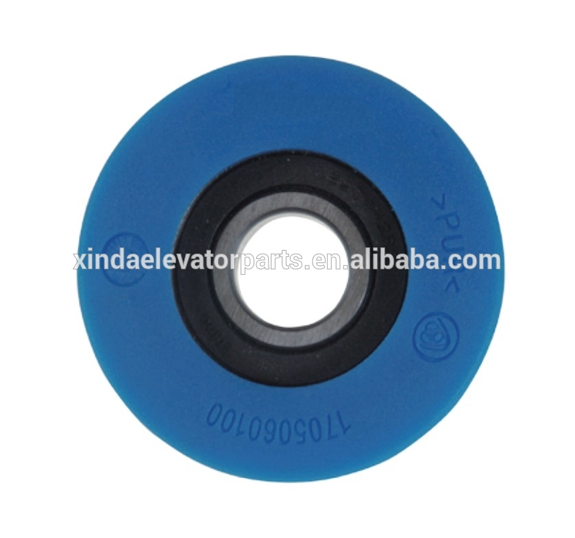 Step wheel 75x24 bearing 6204 for escalator spare part