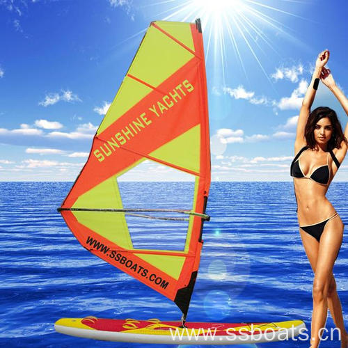 ,New product inflatable Windsurfer/sail surf board