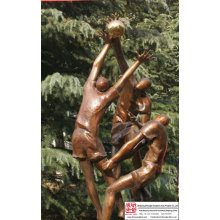 Plaza Art Bronze Sculpture