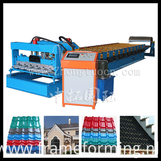 Glazed tile roll forming machine (1)