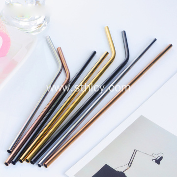Wholesale304 Stainless Steel Straws With Case And Cleaning