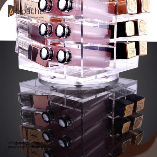 Rotatable Acrylic Lipstick Storage Display Box