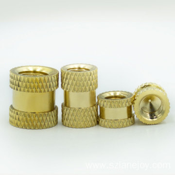 Customized OEM 1/4 bsp female thread brass nut