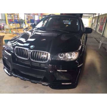 BMW X6 modification of HAMANN front bars