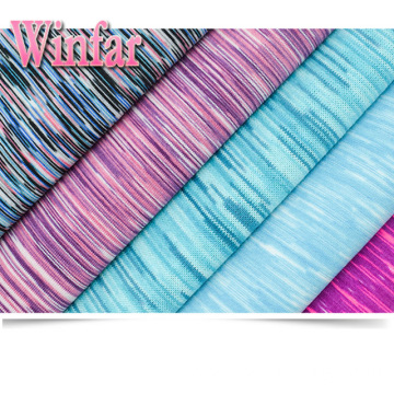 Polyester Dyed Micro Fiber Jersey Polyester Spandex Fabric