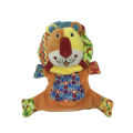Hand Puppet Lion Red