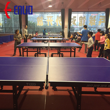Professional table tennis flooring for PVC sports