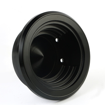 Black Aluminium Treble Housing