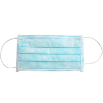 Three Ply Flu Face Mask Earloop Disposable