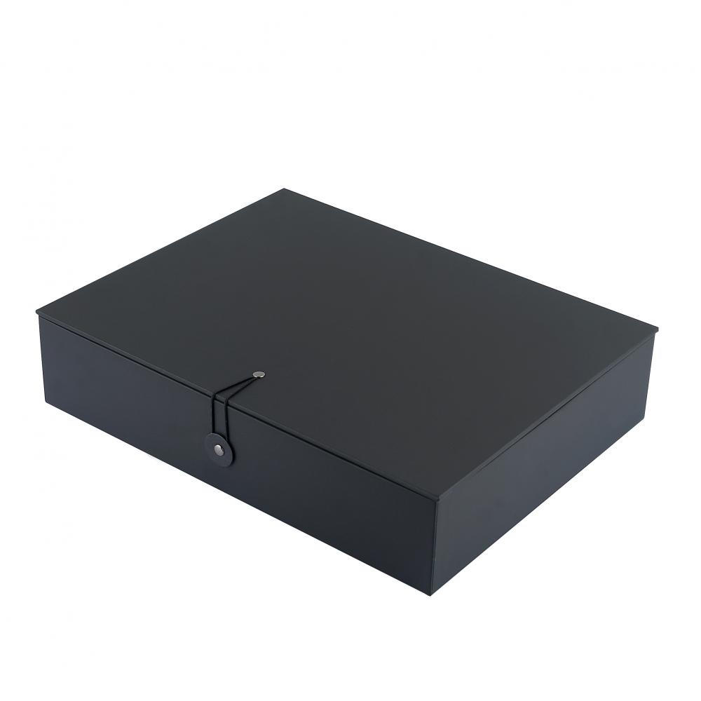 Black Box With Liner With String Design