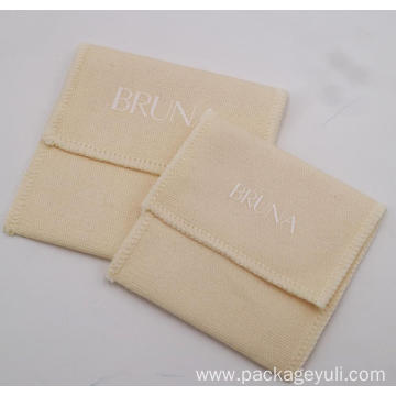 jewelry packing cotton envelope bag