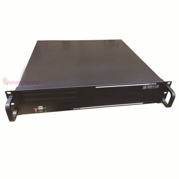 19inches rack-mounted server chassis TOP2U400 2U industrial equipment small computer case 4slot/7slot rear window black