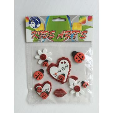 foam sticker sheet-love bug