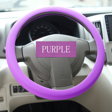 Rubber Car Steering Wheel Case Cover Auto Accessories