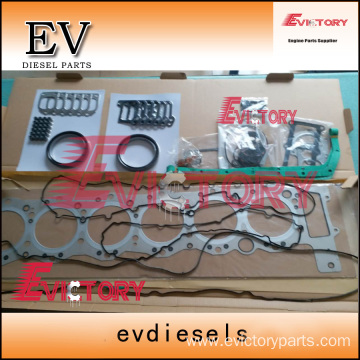 excavator 6WF1-TC engine gasket bearing piston ring liner