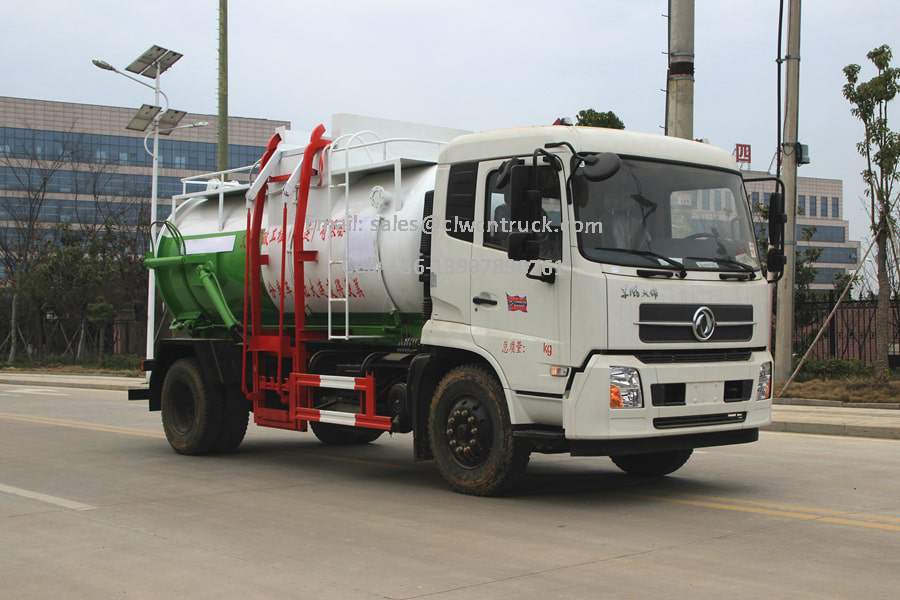 Recycled Oil Collection Truck Images