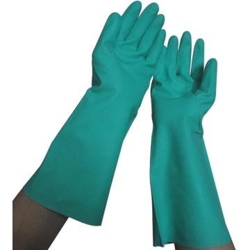 15mil Chemical Green Nitrile Gloves