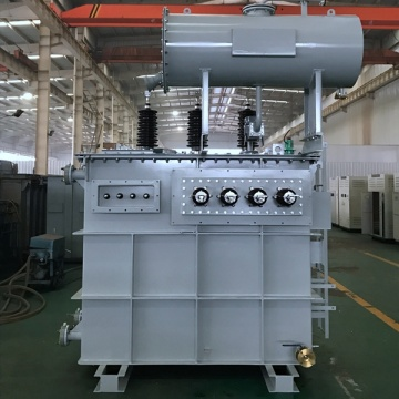 8MVA 33/6.6/0.4KV three winding power transformer