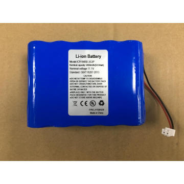 3.7V 3000Mah Rechargeable Lithium Ion Bateria Battery Pack