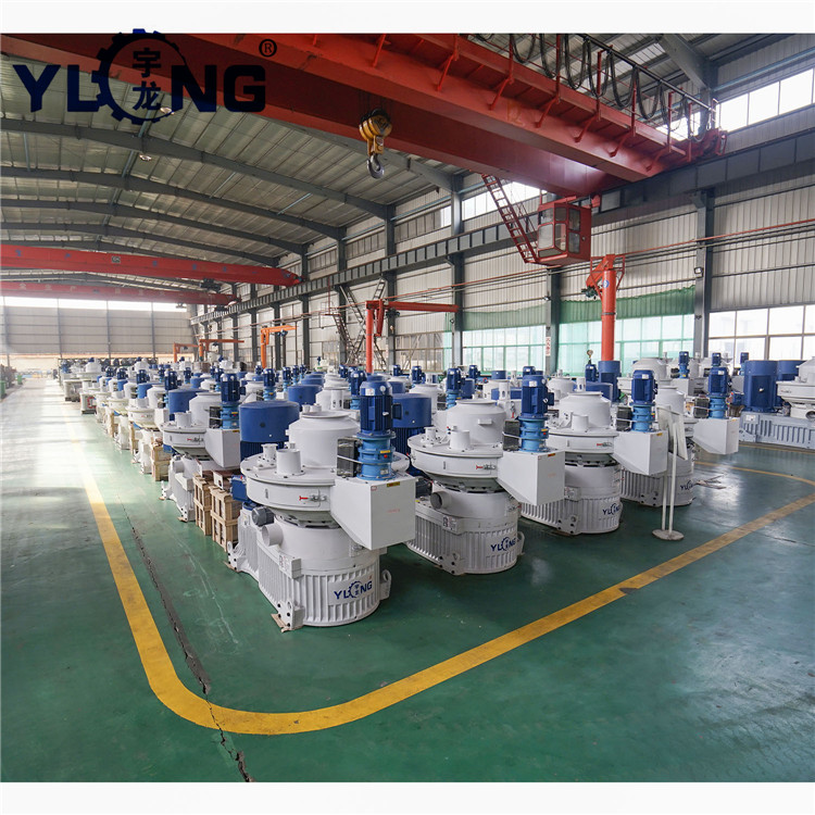 Yulong wood pellet making machinery