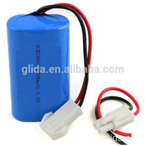 Li-ion Battery Pack 7.4v 850mah