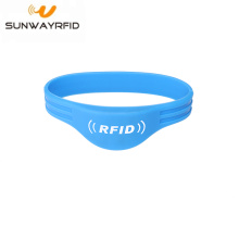 NTAG213/215/216 rfid silicone wristbands bracelet access control