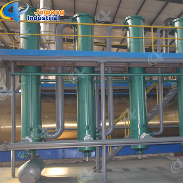 Waste Crude Oil Refinery to Diesel Machine