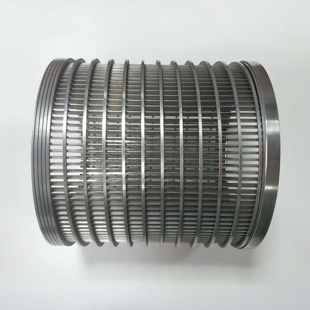 316Laxial wire filter element