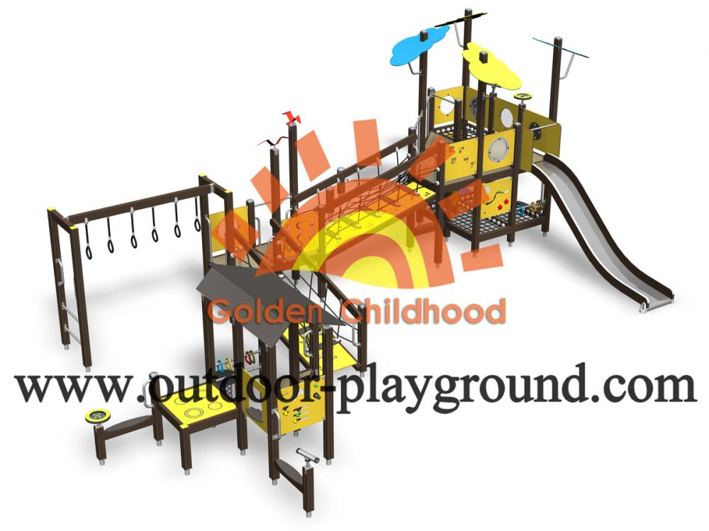 Outdoor Climbing Play Structure