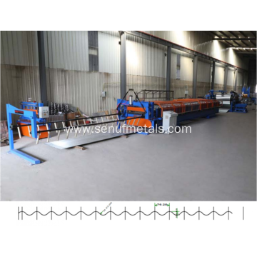 European Style Corrugated Roof Sheet Roll Forming Machine