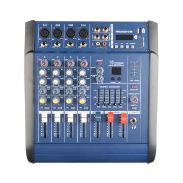 Mixing console digital power amplifier pro