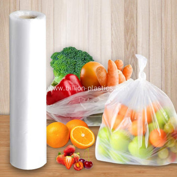 Clear Thick Supermarket  Plastic Packing Poly Bags