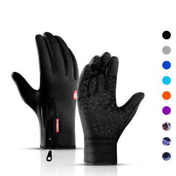 2020 Winter Unisex Touchscreen Cycling Gloves Bicycle Warm Full Finger Bike Ski Outdoor Camping Hiking Motorcycle Gloves