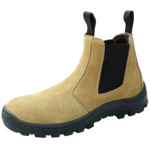 Suede Leather Safety Footwear