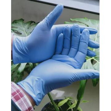 Disposable Blue Nitrile Gloves